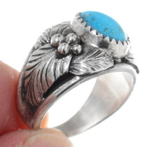 Western Turquoise Ladies Ring 35609