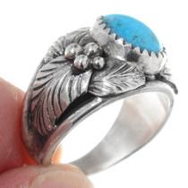 Western Turquoise Ladies Ring 35609