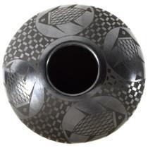 Mata Ortiz Mimbres Blackware Pottery 35632