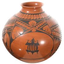 Large Mata Ortiz Mimbres Pottery 35636