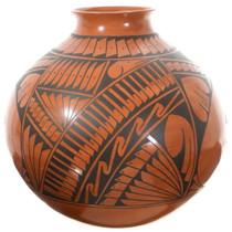Mata Ortiz Redware Olla Pottery Mary Chavira 35636