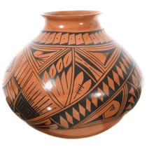Hand Painted Southwest Geometric Patterns Pottery Decor 35637