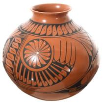 Large Mata Ortiz Olla Pottery 35641