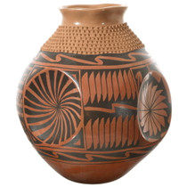 Hand Etched Mata Ortiz Southwest Pottery 35643