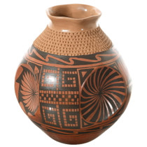 Large Polychrome Mata Ortiz Pottery 35643