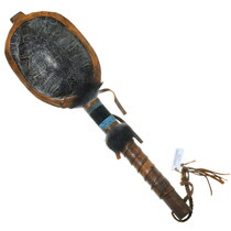 Native American Ceremonial Rattle 35646