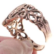 Southwest Copper Turquoise Bracelet 35663