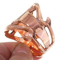 Copper Old Pawn Style Navajo Bracelet 35664