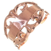 Native American Copper Cuff Bracelet 35664