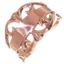 Native American Copper Cuff Bracelet 35664