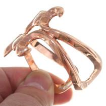 Navajo Copper Cuff Bracelet 35665