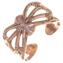 Ladies Old Pawn Style Copper Cuff 35669