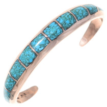 Arizona Turquoise Copper Cuff Bracelet 35675