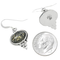 Native American Peridot Earrings 35684