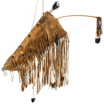 Large Navajo Leather Bow Quiver Set 35692