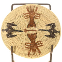 Hand Woven Coastal Theme Southwest Basket 35698