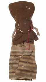 Native American Burial Style Doll Folk Art 35699
