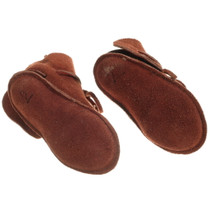 Buckskin Leather Native American Moccasins 35706