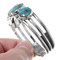Turquoise Navajo Cuff Bracelet 21062