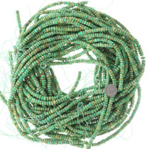 6mm Soft Square Turquoise Beads Bright Green 35506