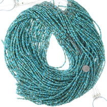 Blue and Green Turquoise Beads Tumbled Nuggets 35508