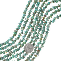 Genuine Green Turquoise Nugget Beads 35509