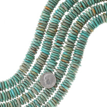 Green Turquoise Disc Beads 35511