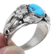 High Grade Kingman Turquoise Ring 35722