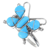Turquoise Butterfly Ring 35726