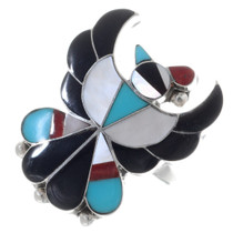 Zuni Inlaid Thunderbird Ring 35738