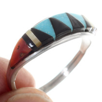 Native American Inlay Ring 35745