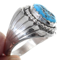 Sterling Silver Turquoise Native American Ring 35748