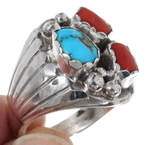 Sterling Silver Navajo Mens Ring 35760