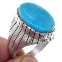 Kingman Turquoise Mens Ring 35766