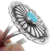 Turquoise Navajo Ring 35792