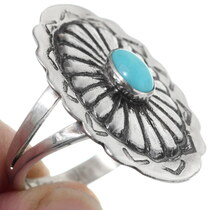 Turquoise Navajo Ring 35792