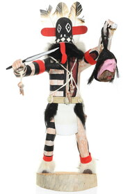 Vintage Hopi Priest Killer Kachina Doll 35801