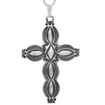 Navajo Santa Fe Silver Cross 35807