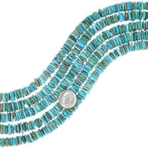 Color Mix Turquoise Heishi 35515