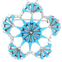 Zuni Turquoise Pendant 35823