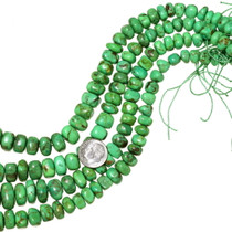 Green Chunky Turquoise Beads 35518