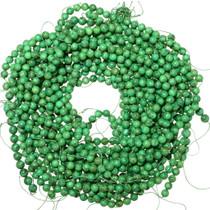 8mm Round Turquoise Beads Kiwi Green 35519