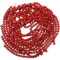 8mm Round Genuine Apple Coral Beads 35526
