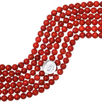 Apple Red Coral Beads 35526
