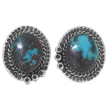 Genuine Bisbee Turquoise Earrings 35864