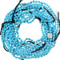 Untreated Turquoise Beads Natural Gemmy Arizona Turquoise 35534