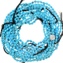 Untreated Turquoise Beads Natural Gemmy Arizona Turquoise 35534