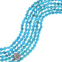 Natural Kingman Turquoise Nugget Beads 35534