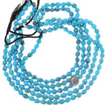 Untreated Gemmy Turquoise Beads Arizona 35535