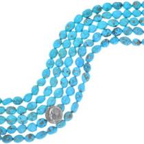 Natural Kingman Turquoise Nugget Beads 35535